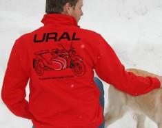 Czerwona bluza Ural