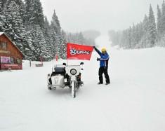 Ural Śnieżna Pantera podbija Słowackie góry